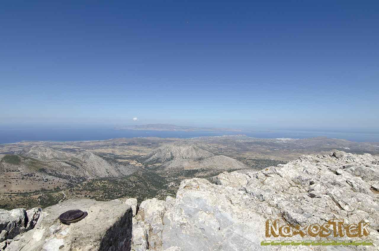 Θέα από την κορυφή του Ζα