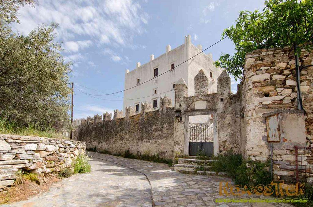 Barozzi - Gratsia Tower. Trekking Trail 4, Halki, Naxos, Greece | Naxostrek