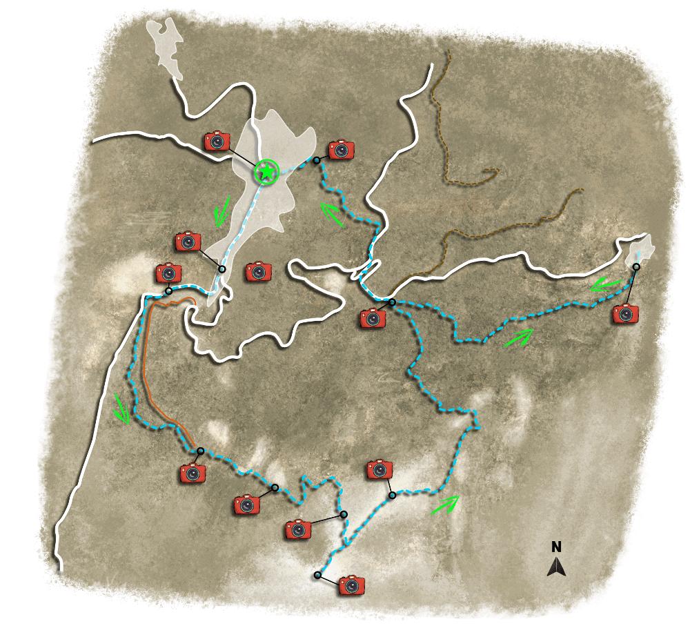 Απόρρητο: Πεζοπορία στην Νάξο: Μονοπάτι 2 – χάρτης